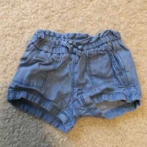 Baby denim shorts